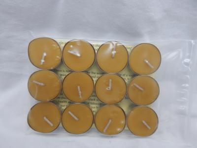 Beeswax Candle - 12 pack Tealites