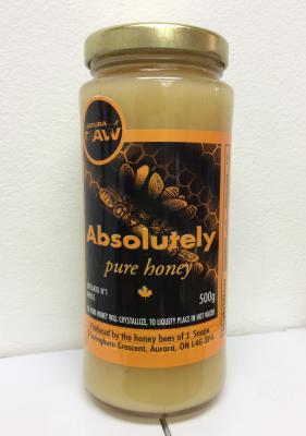 Absolutely Pure RAW Honey 500g