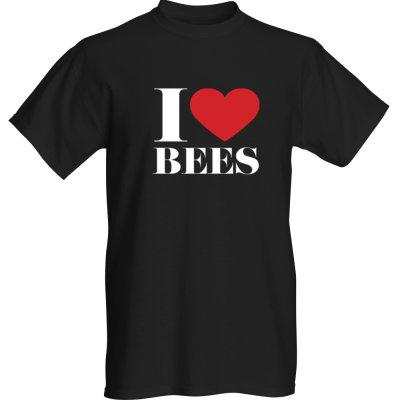 T-shirt - I Love Bees - Adult Large