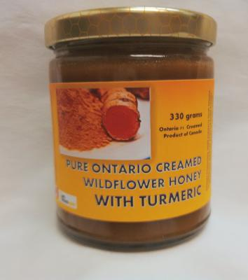 Bees Are Life Creamed Honey with Turmeric 330g