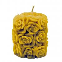 Beeswax Candle - Too Many Roses