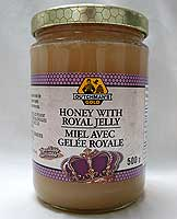 Dutchman's Gold Raw with Royal Jelly 500g